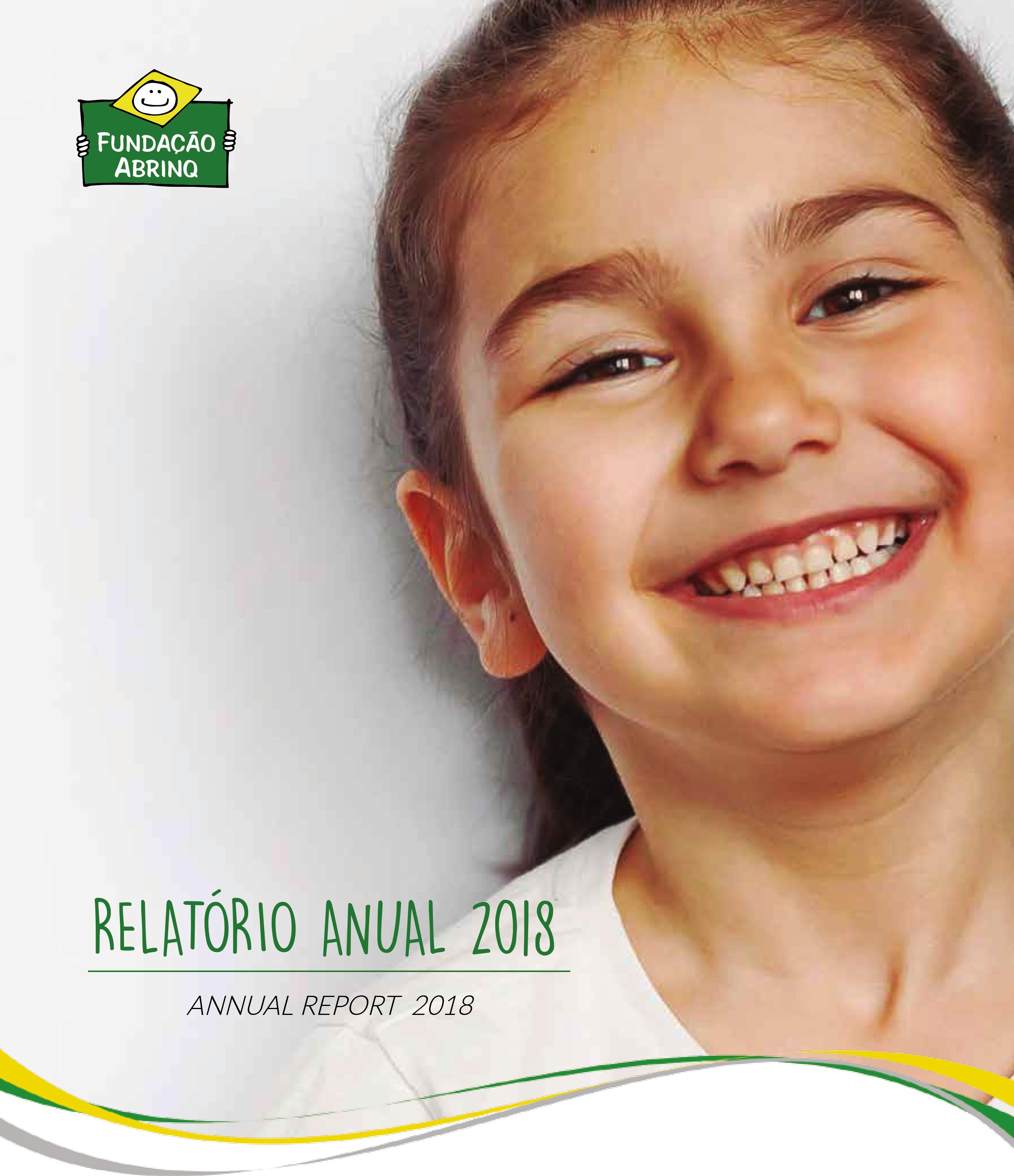 Relatório Anual 2018 - Fundação Abrinq