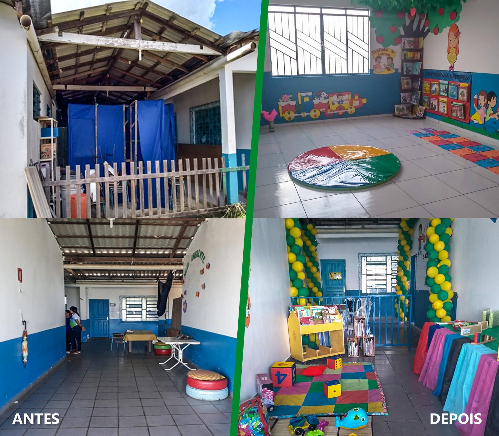 Fundação Abrinq amplia escola municipal e ajuda a diminuir a alta demanda de vagas em Pacaraima (RR)