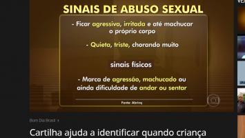 Cartilha ajuda a identificar quando criança sofreu abuso sexual