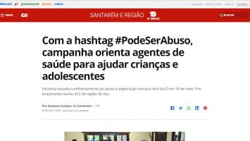 Com a hashtag #PodeSerAbuso, campanha orienta agentes de saúde para ajudar crianças e adolescentes