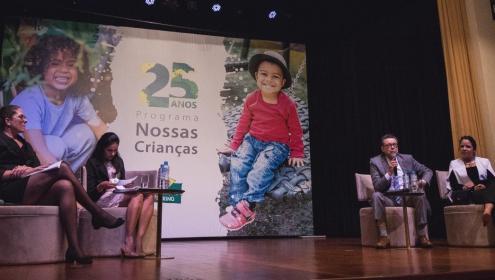 Fundação Abrinq comemora 25 Anos do Programa Nossas Crianças
