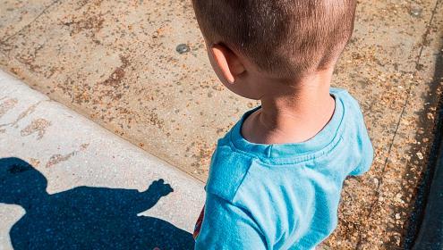 Gabriel, 4 anos, filho do tráfico