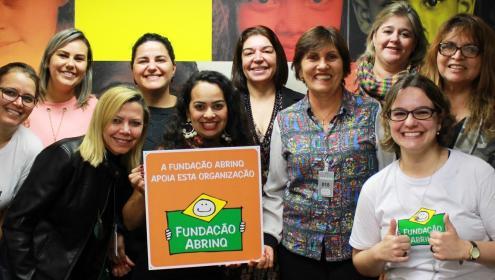 Mais crianças poderão contar com o apoio da Fundação Abrinq em suas organizações