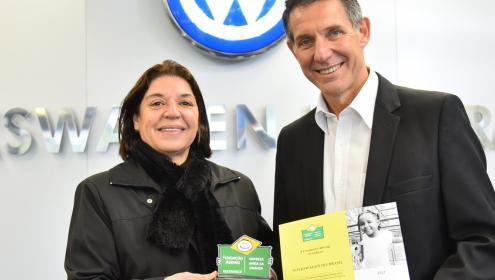 Volkswagen e Fundação Abrinq, juntas há mais de 15 anos para melhorar a vida das crianças e adolescentes