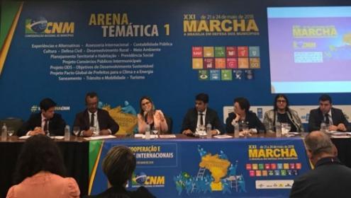 Fundação Abrinq fortalece parceria com gestores municipais na XXI Marcha dos Prefeitos em Brasília
