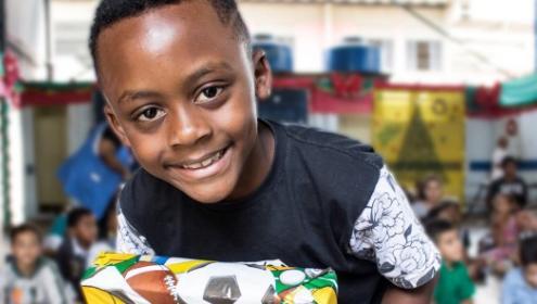 Fundação Abrinq garantiu a alegria do Natal para mais de 2.700 crianças